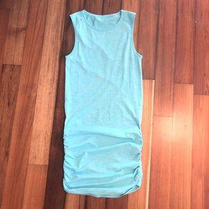 Lululemon in the flow dress Heathered angel blue 4